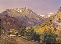The Radhausberg at Gastein , 1837, waldmuller