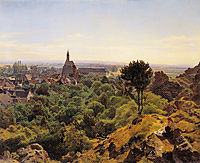 View to Mödling, 1848, waldmuller