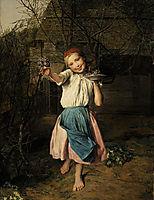 The Violet Girl, waldmuller