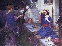 The Annunciation, 1914, waterhouse