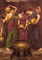 The Danaides, 1904, waterhouse