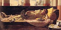 Dolce Far Niente or Sweet Nothings, 1880, waterhouse
