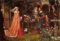 The Enchanted Garden, 1916, waterhouse