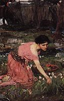 Flora, 1890, waterhouse
