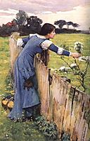 The Flower Picker, 1900, waterhouse