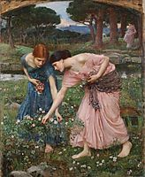 Gather ye rosebuds while ye may, waterhouse