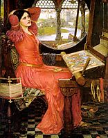 I am Half-sick of Shadows or the Lady of Shalott, 1915, waterhouse