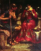Jason and Medea, 1907, waterhouse