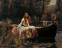 The Lady of Shalott, 1888, waterhouse