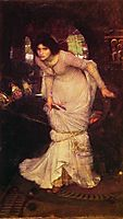 The Lady of Shalott, 1894, waterhouse