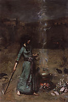 The Magic Circle, 1886, waterhouse