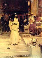 Mariamne Leaving the Judgement Seat of Herod, 1887, waterhouse