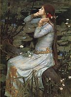 Ophelia, 1910, waterhouse