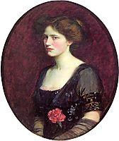 Portrait of Mrs. Charles Schreiber, 1912, waterhouse