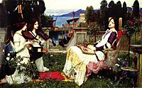 Saint Cecilia, 1895, waterhouse