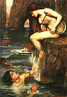 The Siren, 1900, waterhouse