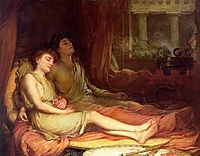 Sleep and His Half Brother Death, 1874, waterhouse