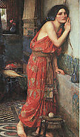 Thisbe, 1909, waterhouse