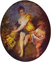Autumn, c.1716, watteau