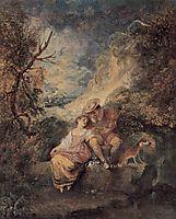 The Bird Nester, c.1710, watteau