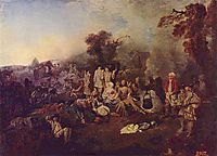The Camp, watteau