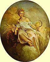 Ceres (Summer), 1712, watteau