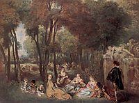 The Champs Élyssées, c.1717, watteau