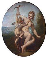 Cupid Disarmed, c.1715, watteau