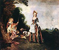 The Dance, 1720, watteau