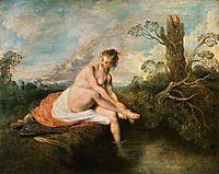 Diana at her Bath, 1716, watteau