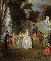 The Feasts of Venice, c.1717, watteau