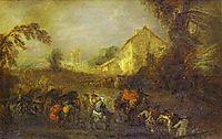 The Hardships of War, c.1716, watteau