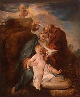 The Holy Family, 1719, watteau