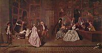 L-Enseigne de Gersaint, 1720, watteau