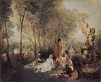 A Love Festival, c.1717, watteau