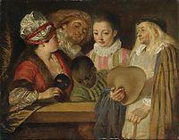 Maskerade, c.1717, watteau