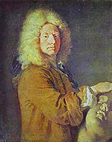 Portrait of M Pater, c.1716, watteau