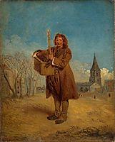 Savoyard with a marmot, 1715, watteau