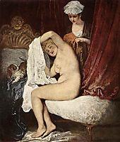 The Toilette, c.1717, watteau