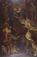 Court of Death, 1902, watts