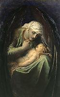 Death Crowning Innocence, 1887, watts