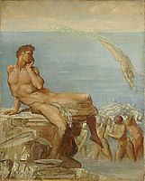 Genius of Greek Poetry, 1878, watts