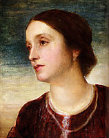 Portrait Of The Countess Somers, watts