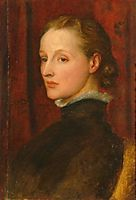 Portrait of Mary Fraser Tytler, afterwards Mary Seton Watts, 1887, watts