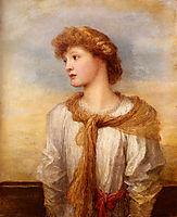 Portrait Of Miss Lilian Macintosh, watts