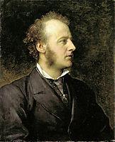 Portrait of Sir John Everett Millais, 1871, watts