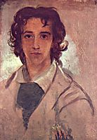 Self-Portrait as a Young Man, 1834, watts