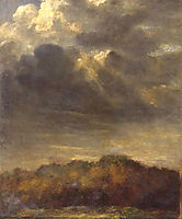 Study of Clouds, 1900, watts