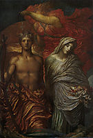 Time, Death and Judgement, 1886, watts