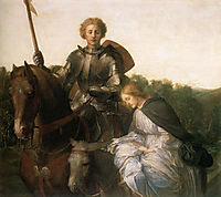 Una and the Red Cross Knight, c.1860, watts